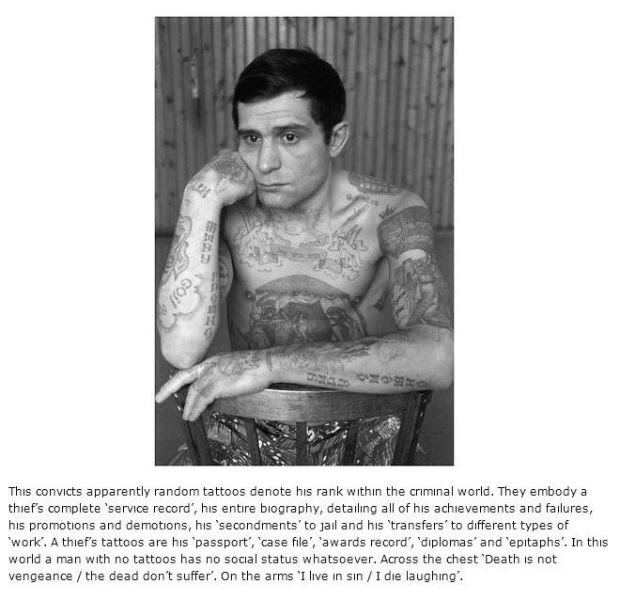 What Russian Prison Tattoos Really Mean (15 Pics)