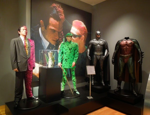 Original Batman Forever movie costume exhibit