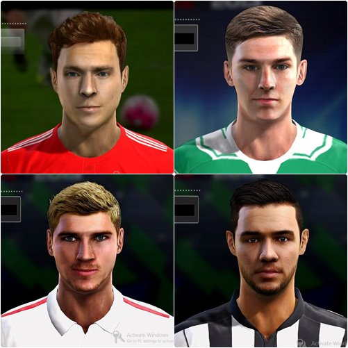 Mini Face Pack PES 2013