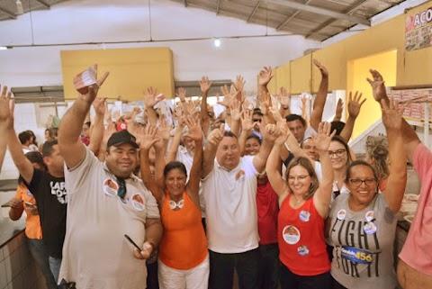 Ao lado da Prefeita Iraneide Rebouças, Dr. Beguinho e várias lideranças politicas, candidato a deputado estadual Dr. Bernado caminhou com uma multidão em Areia Branca. Confira os clicks!