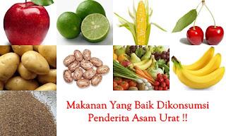 makanan khusus penderita asam urat