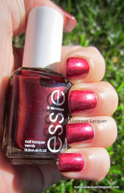 Essie Wrapped in Rubies, Winter 2007