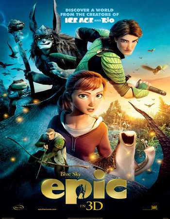 Epic 2013 Hindi Dual Audio BRRip Full Movie Download