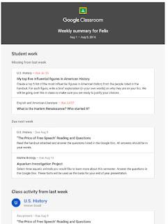 Google Classroom funcionalidades