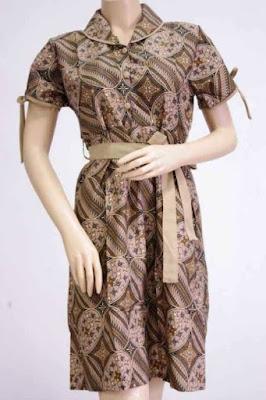 Model Dress Batik Untuk Anak Muda
