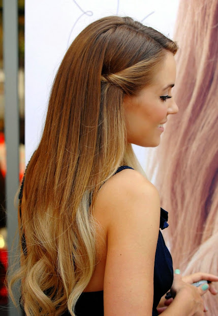 ombre stay - haircut
