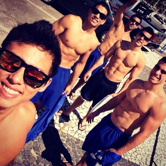 Jogadores – Ginastas gostosos do Minas Tênis Clube