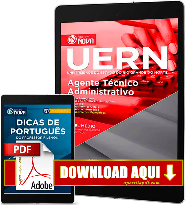 Apostila UERN 2016 PDF Download Agente Técnico Administrativo PDF Download