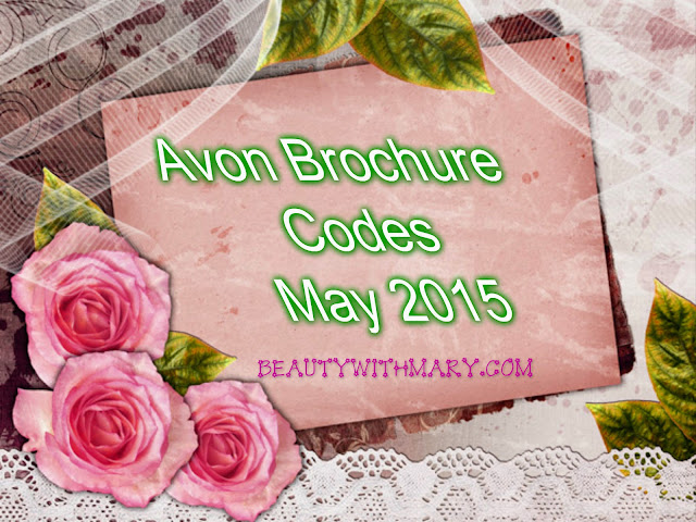 Avon Brochure Codes - May 2015