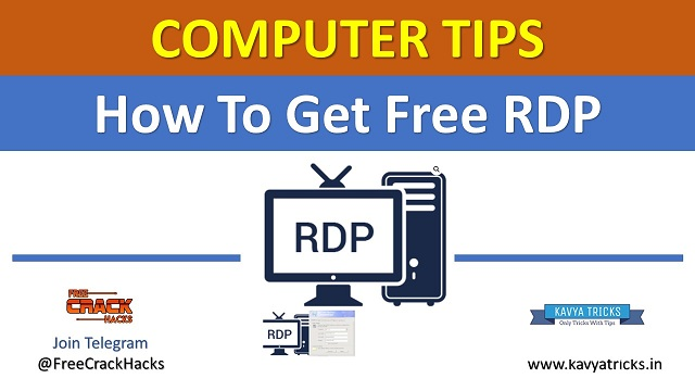 How To Get Free RDP? Second Method to Get Free RDP 1
