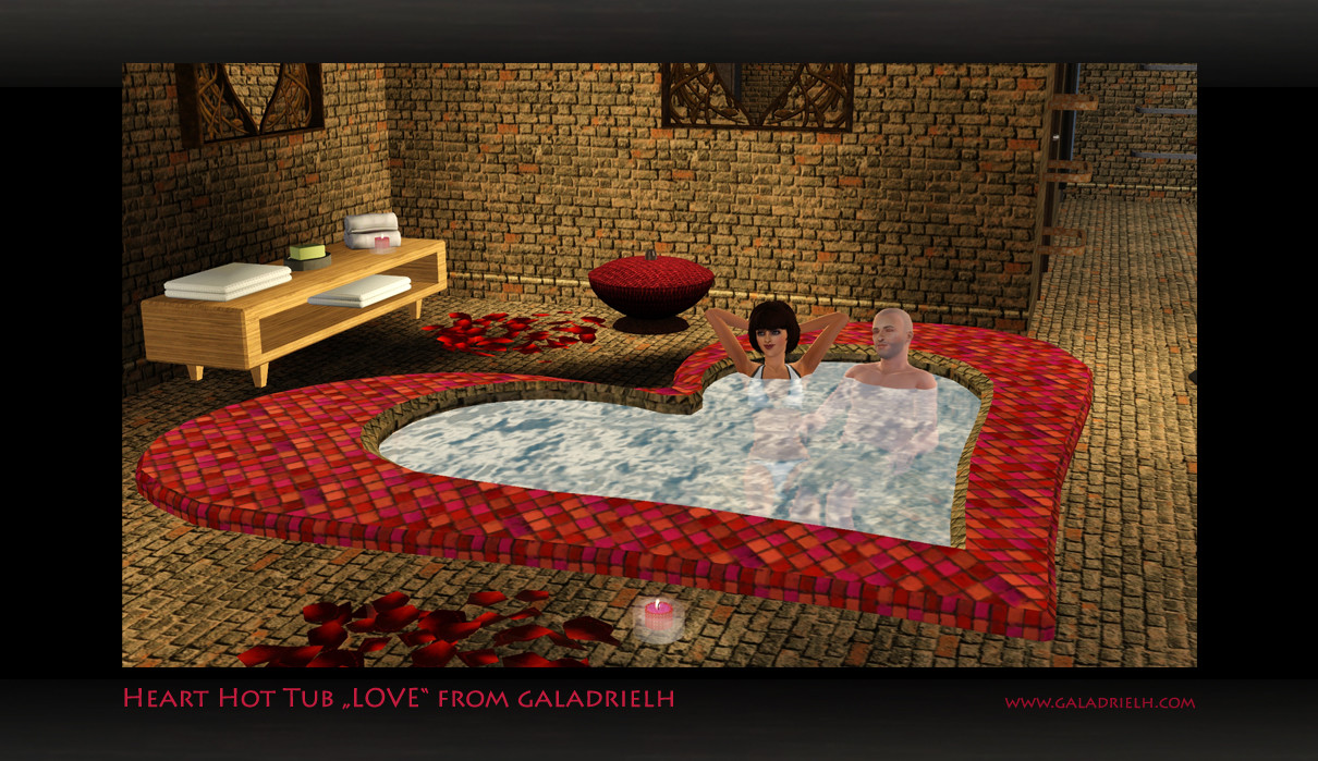 My Sims 3 Blog Heart Hot Tub -1072
