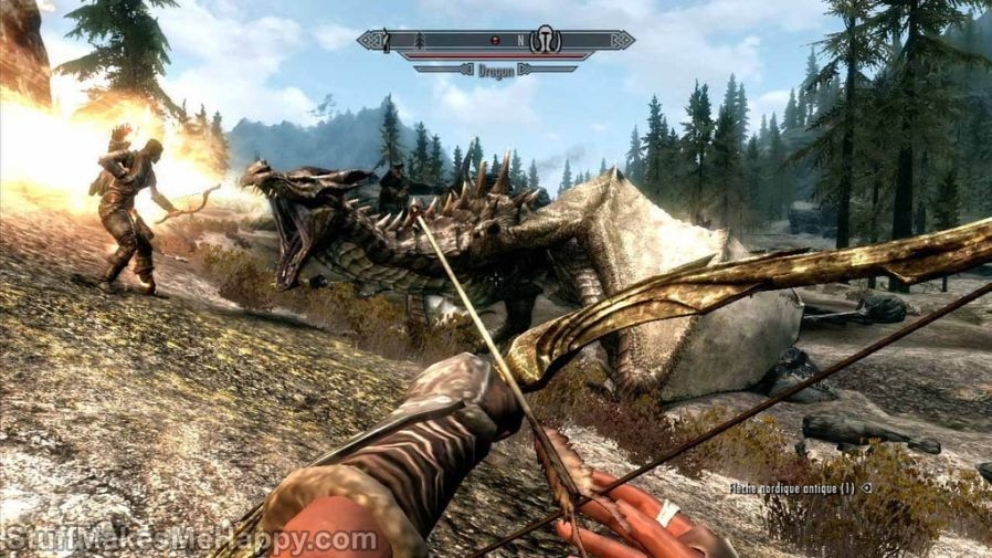 5. The Elder Scrolls Arena (1994) and The Elder Scrolls V Skyrim (2011)