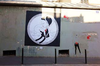 Sunday Street Art : Fred le Chevalier - rue Jean-Baptiste Dumay - Paris 20