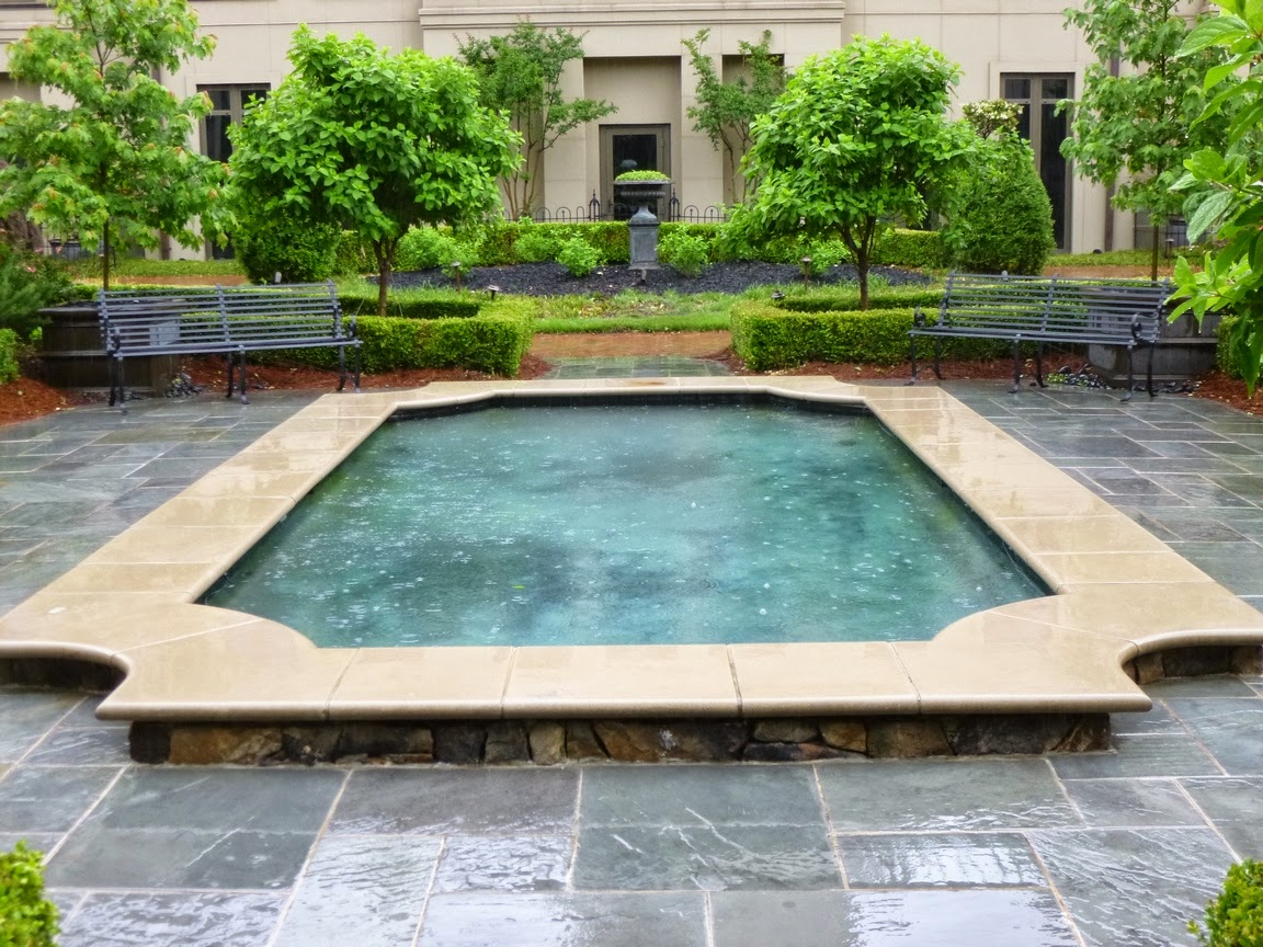 Garden pool at Mandarin Oriental, Atlanta