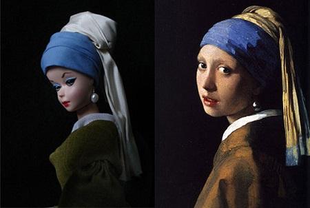 Barbie, La jenne fille à la perle de Jocelyne Grivaud