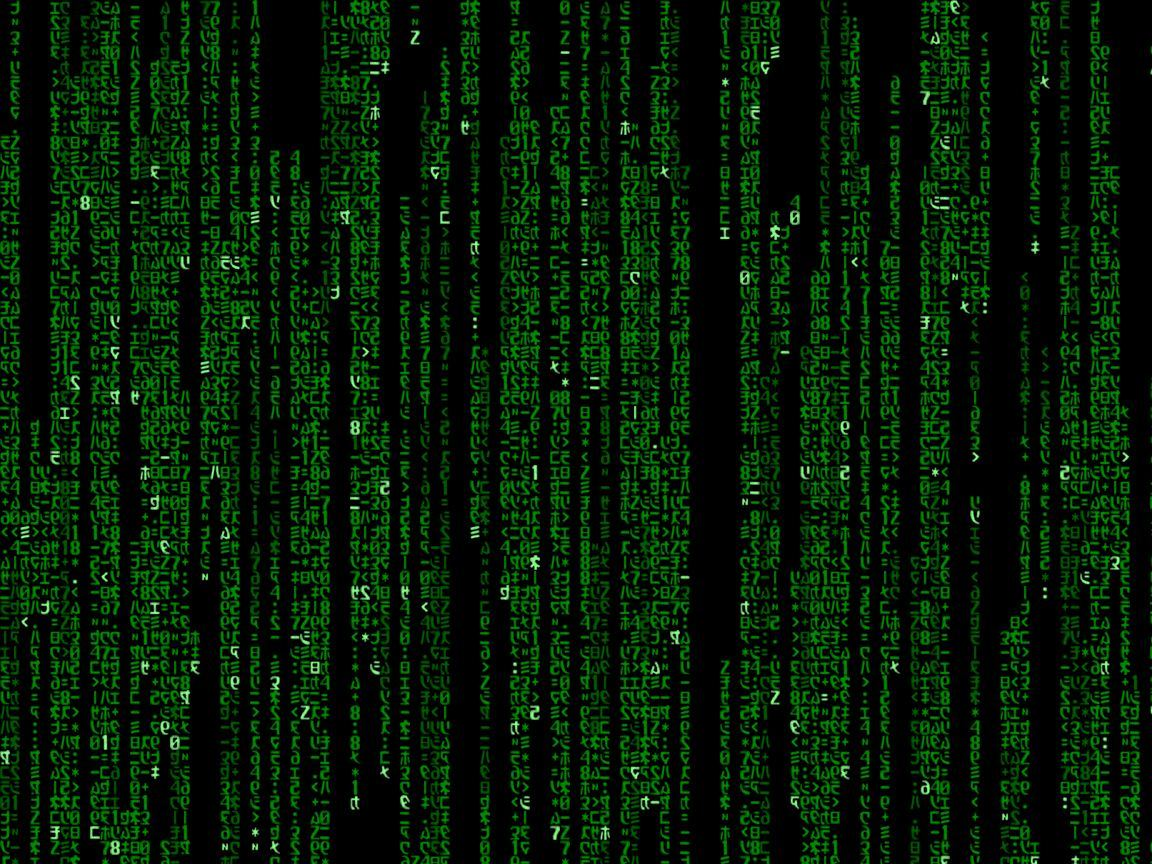 Matrix coding wallpaper