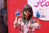 Bollywood and TV Show Celebs Playing Holi 2017   Zoom Holi 2017 Celetion 13 MARCH 2017 012.JPG