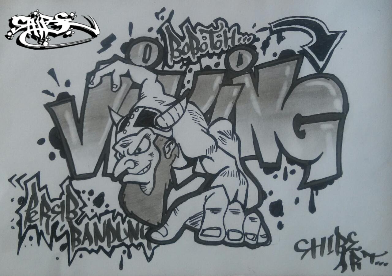 Belajar Menggambar Graffiti Graffiti Club
