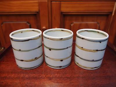 白山陶器 セピアライン 湯呑