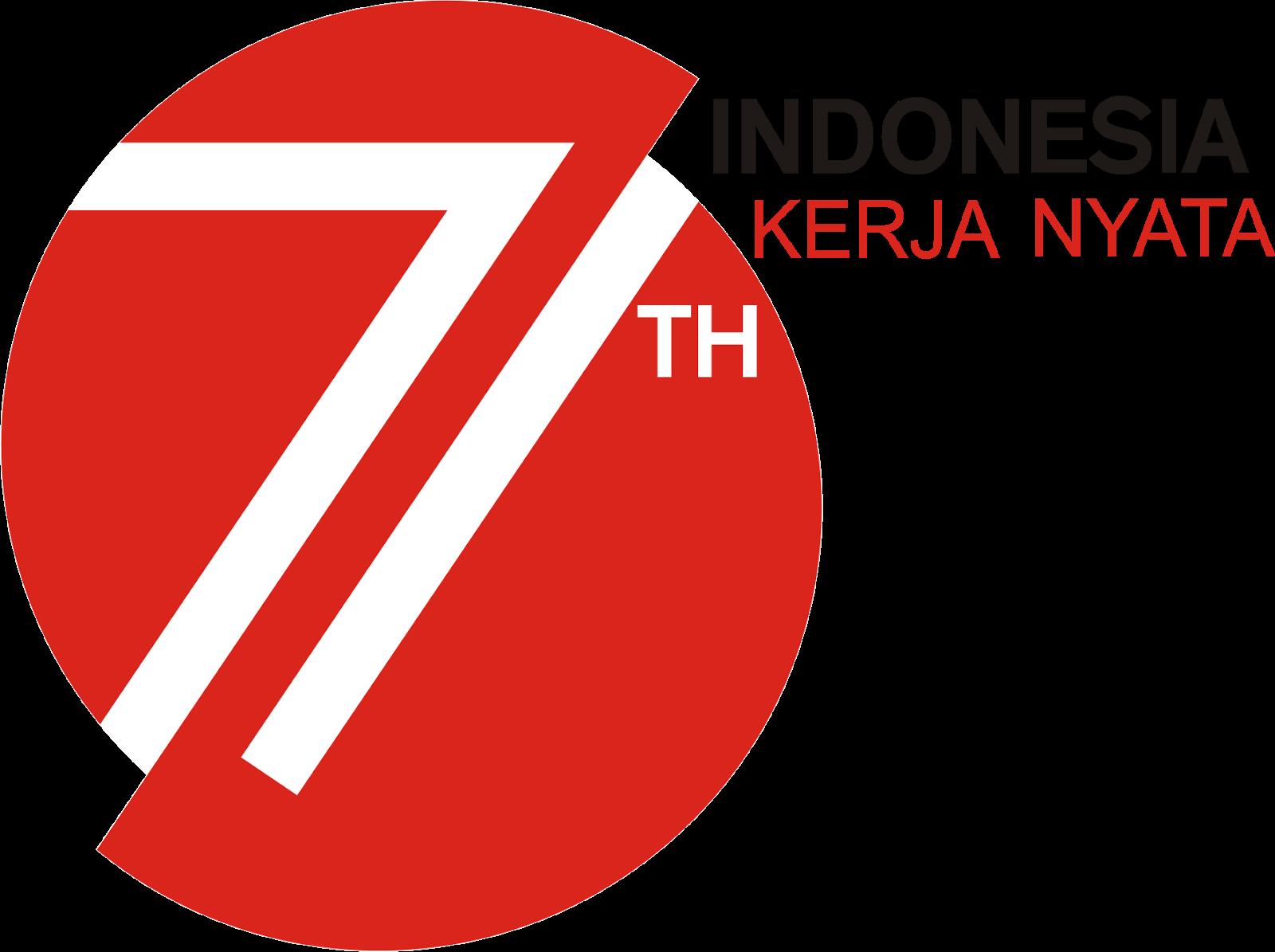 Logo Resmi Dirgahayu HUT RI Ke 71 Tahun 2016 Format Vector CDR