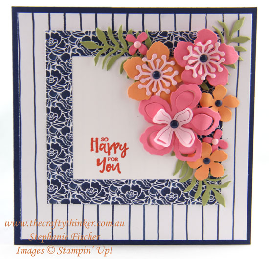 #thecraftythinker, #crazycraftersbloghop, Botanical Builder, Stampin' Up! Australia Demonstrator, Stephanie Fischer, Sydney NSW