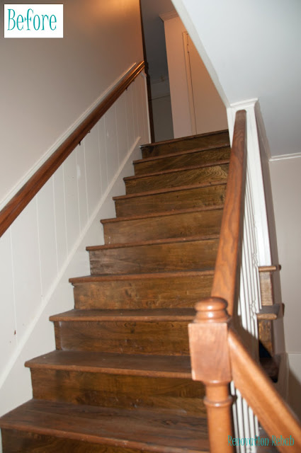 Renovation Rehab Replacing The Staircase From Quot H E Double Hockey Sticks Quot With A Heavenly Staircase