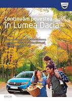 Castiga un week-end cu gasca ta la volanul noii Dacia Logan MCV Stepway