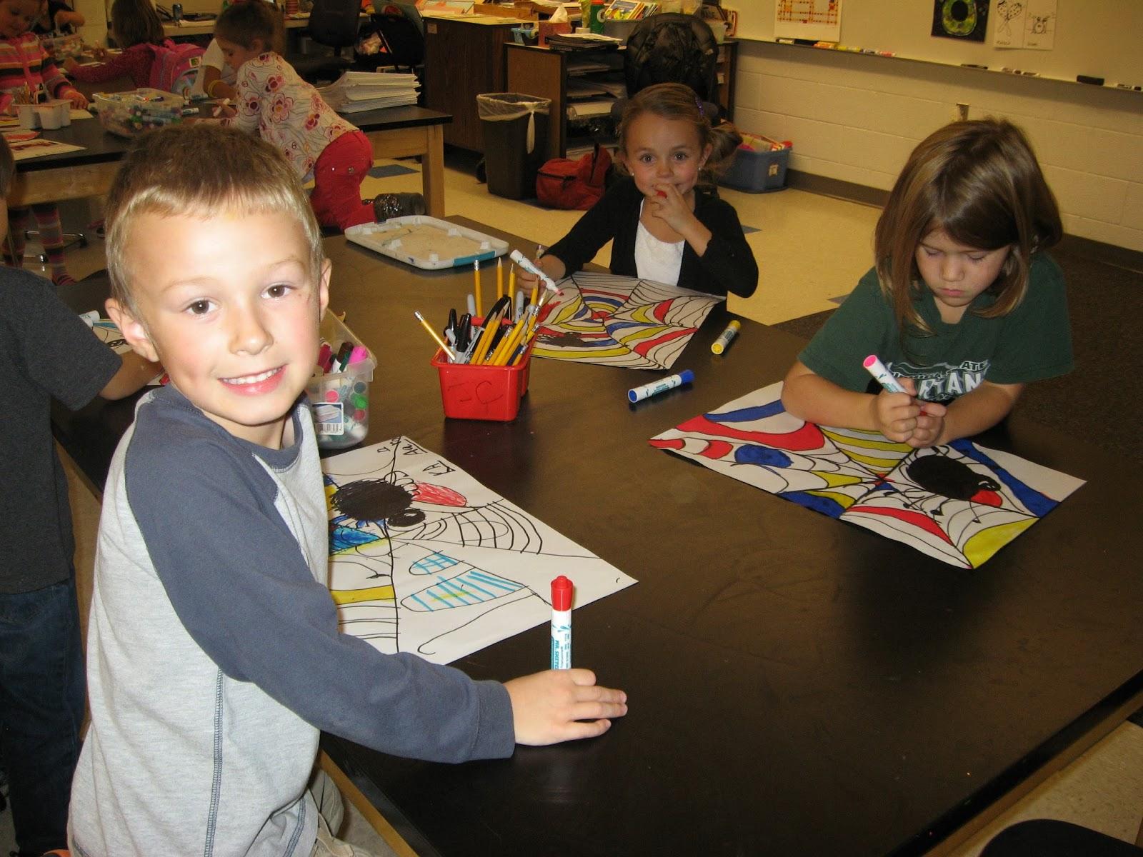 Jamestown Elementary Art Blog Kindergarten Artists Piet