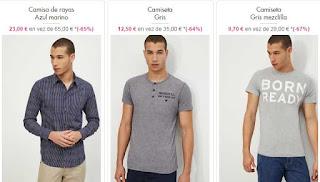 ejemplos de camisas y camisetas para hombre