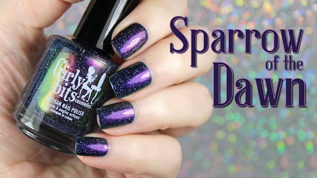 Girly Bits Cosmetics Sparrow of the Dawn | A Tribute To Greta Van Fleet