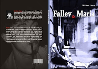 Sampul Novel Fallev dan Maria