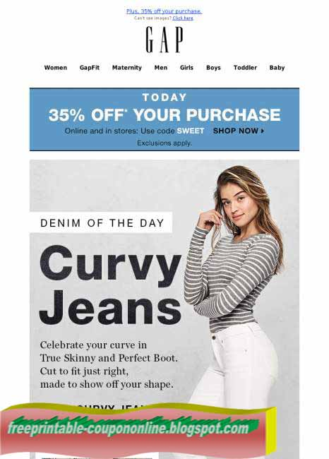 Gap coupons printable august 2018