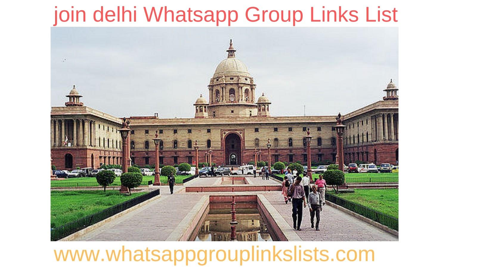 Join Delhi Whatsapp Group Links List