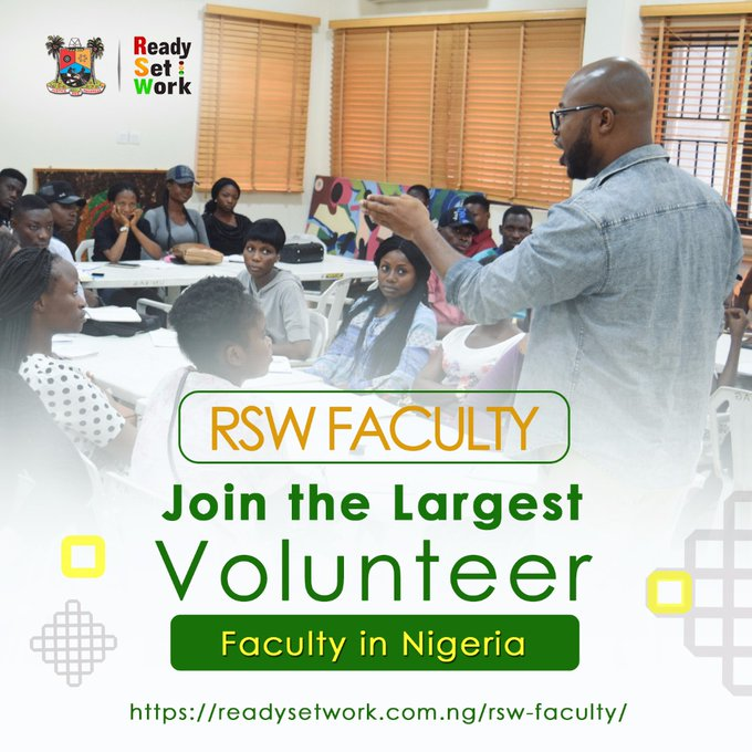 ReadySetWork (RSW) Faculty Training Program for Nigerian Final Year Students 2018