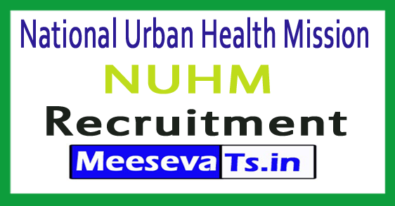 National Urban Health Mission NUHM Buldhana Recruitment