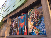 L'expo DC chez Art Ludique; batman; superman; wonder woman; film; serie tv; 2 juin; super heros; super vilain;