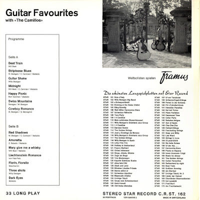 The Camillos - Guitar Favourites with