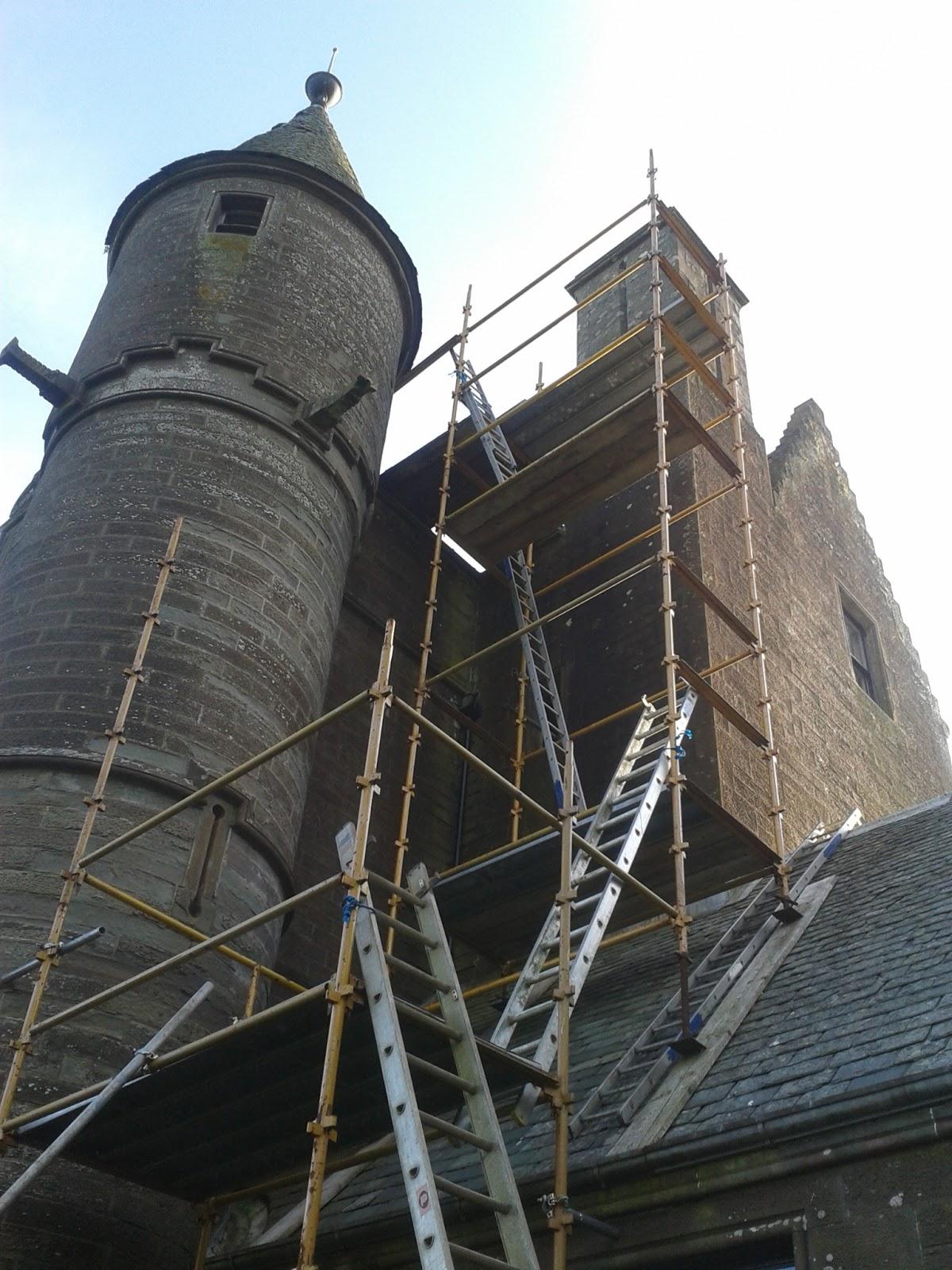 Balintore Castle Restoration Project July 2013