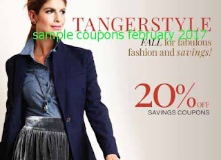 Tanger Outlet coupons february 2017