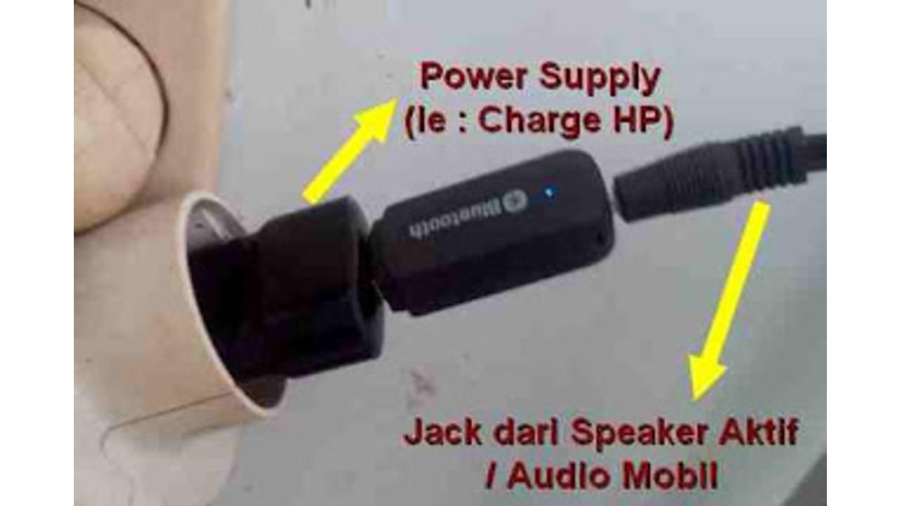 Cara Aman Menghubungkan HP ke Speaker Aktif 1