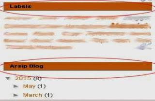 Cara Merubah Warna Judul Widget dan Background Pada Sidebar