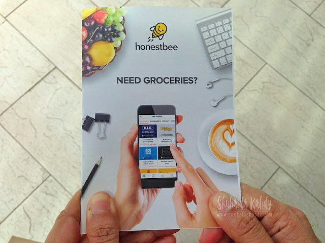 belian barangan runcit secara online di honestbee,honestbee