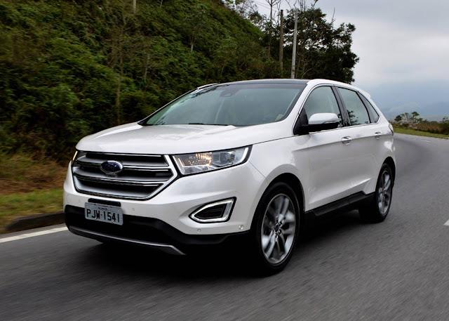 Nova Ford Edge 2017: 5 estrelas no Euro NCAP