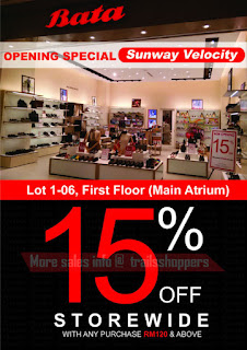 Bata Opening Special (Sunway Velocity Mall)