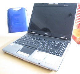 jual laptop second acer aspire 5580