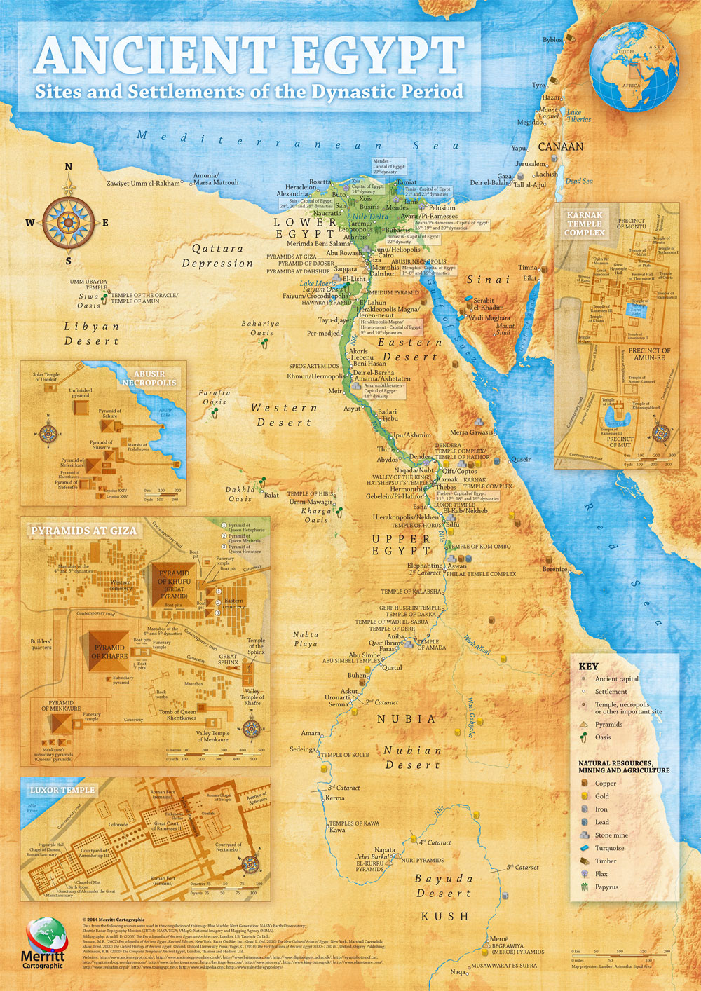 Map of Ancient Egypt