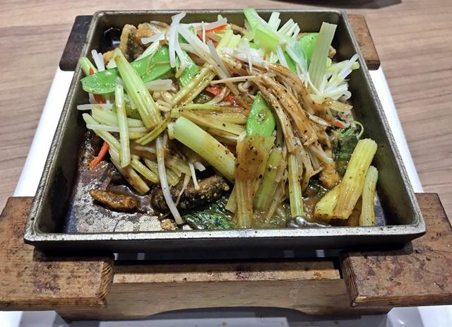 崇德發蔬食餐廳鐵板燒膳寶