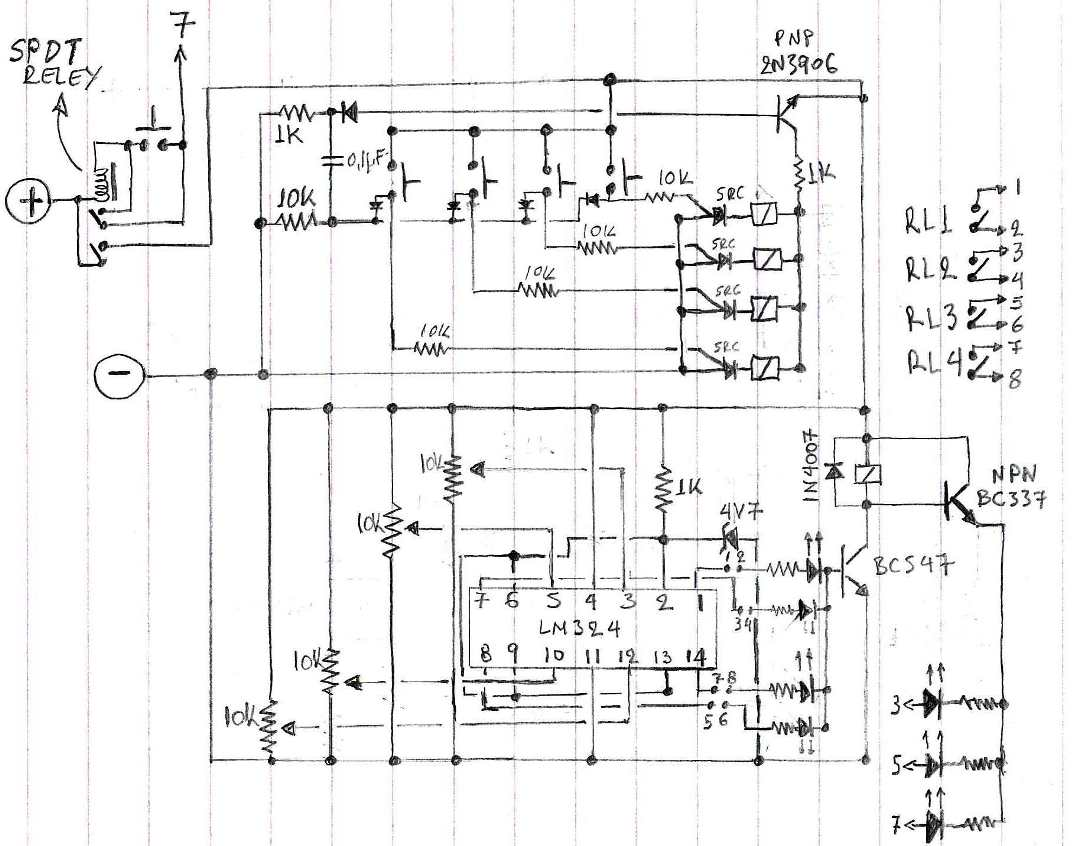 Circuit Diagram Battery Charger Using Scr Wiring Library Design Selectable 4 Step Low Voltage Cut Off