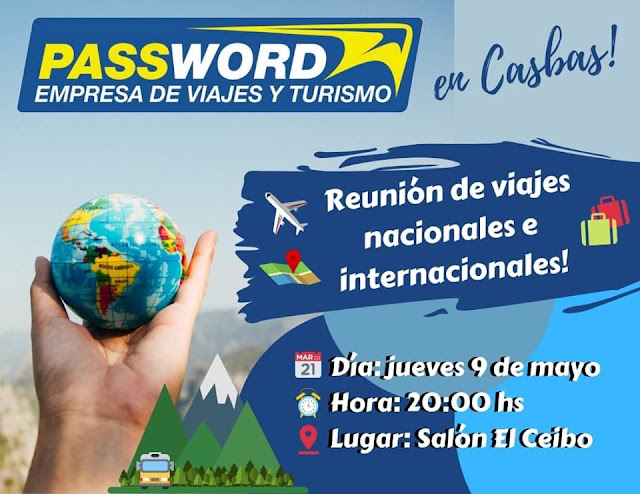 Password Viajes Casbas