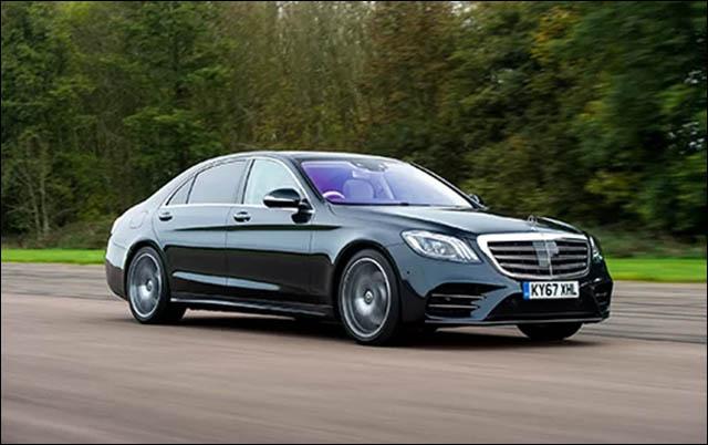 Mercedes S-class mượt mà